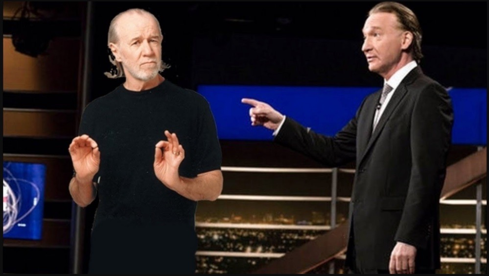 george carlin and bill maher on religions
